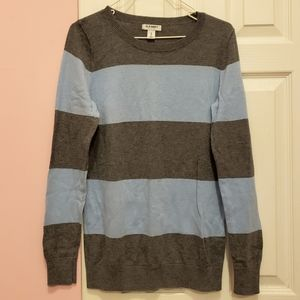 Old Navy Striped Pullover Crew Neck Sweater
